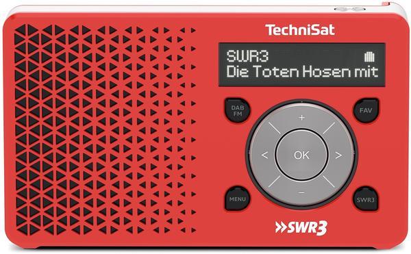 TechniSat Digitradio 1 SWR3-Edition rot/silber