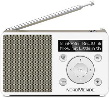 Nordmende Transita 100 weiß/gold