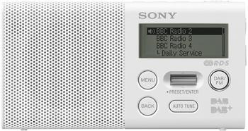 Sony XDR-P1DBPW weiß