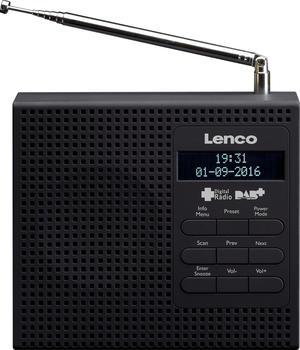 Lenco PDR-020 schwarz
