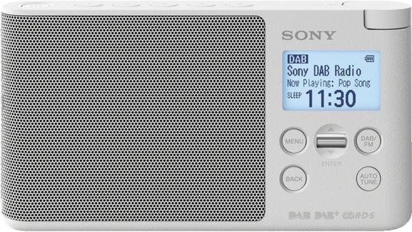 Sony XDR-S41D weiß
