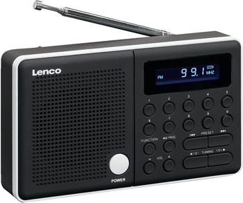 Lenco MPR-034 schwarz