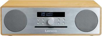 Lenco DAR-070OS Eiche/Silber
