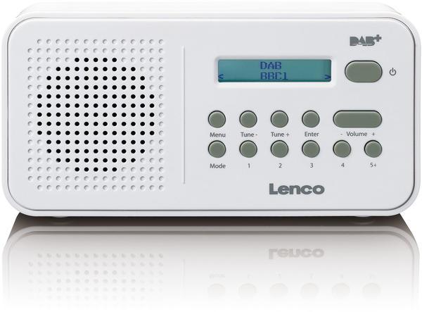Lenco PDR-015 weiß