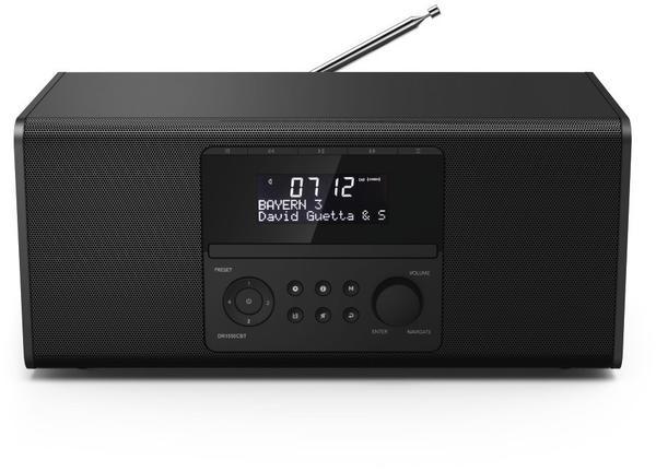 hama dab tischradio dr1550cbt bluetooth cd ukw usb. Black Bedroom Furniture Sets. Home Design Ideas