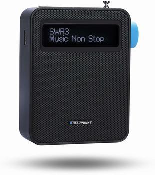 Blaupunkt Digital Steckdosenradio mit Bluetooth| Küchenradio DAB+ PDB-100 SChwarz