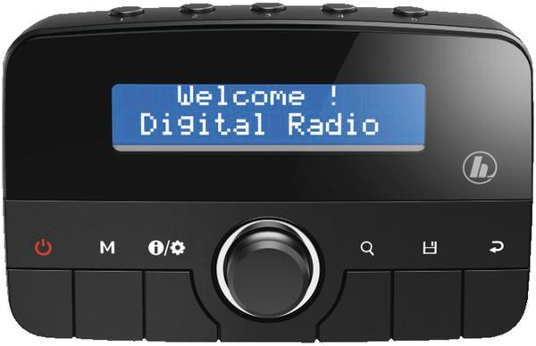 Hama CDR70BT Radio Auto Schwarz