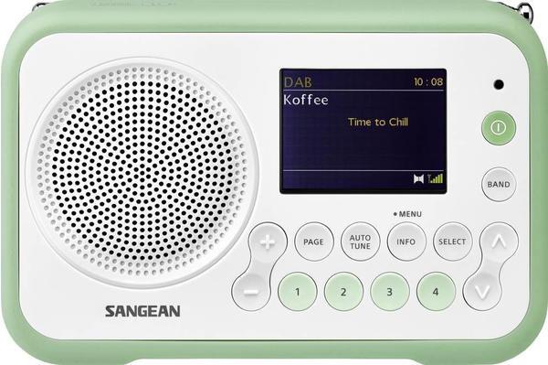 Sangean DPR-76 weißgrün