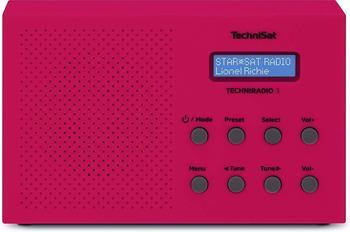TechniSat Techniradio 3 DAB+ rot