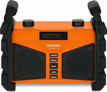TechniSat Digitradio 230 OD DAB+ Baustellenradio AUX, Bluetooth®, UKW, USB spritzwassergeschützt,