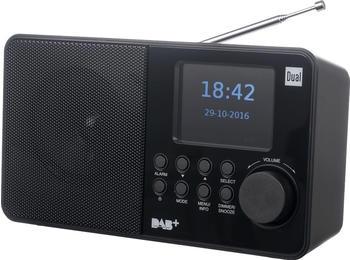 Dual DAB 18 C DAB+ Kofferradio DAB+, UKW