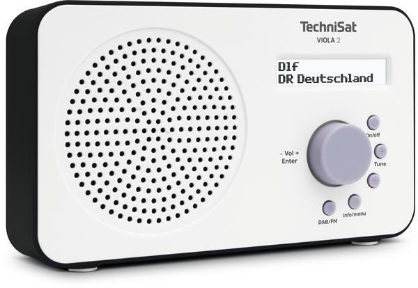TechniSat VIOLA 2 Weiß/Schwarz