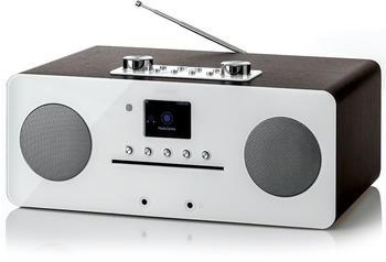 Denver MIR-260 Internet Tischradio AUX, Bluetooth®, CD, DAB+, NFC, UKW Holz (dunkel)