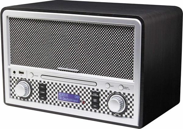 Soundmaster NR955 schwarz/weiß