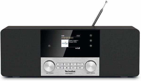 TechniSat DigitRadio 4 C schwarz/silber