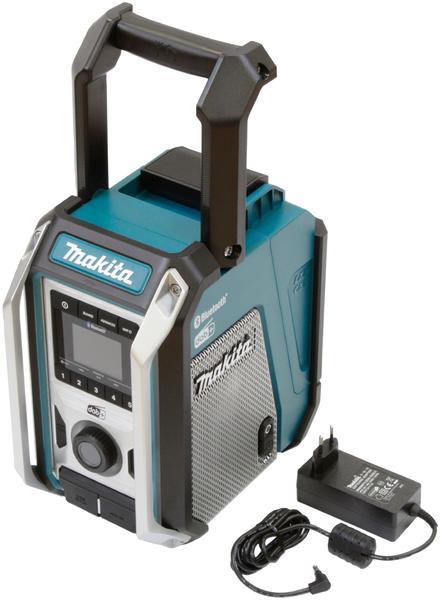 Makita DMR115 mit Akku und Schnellladegerät