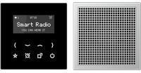 Jung DABAL2BT Smart Radio DAB+ mit Bluetooth - Set Stereo