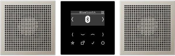 Jung Smart Radio DAB+ Bluetooth, Set Stereo DAB ES2 BT
