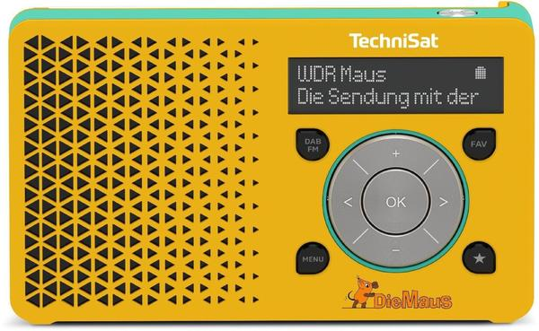 TechniSat DigitRadio 1 DieMaus-Edition gelb/himmelblau