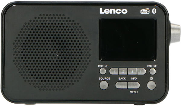 Lenco PDR-035 schwarz