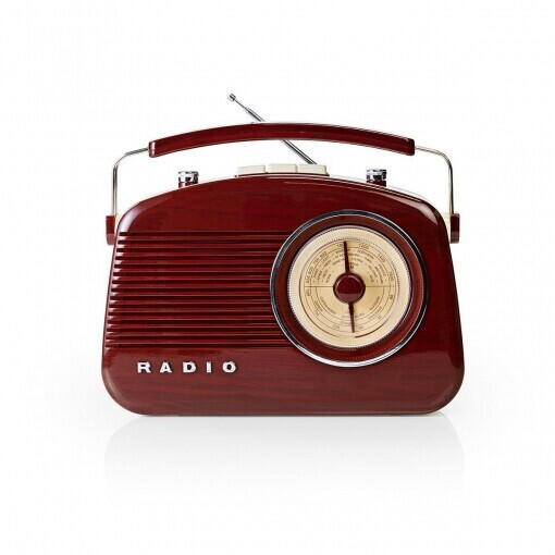 Nedis RDFM5000 4,5W UKW braun