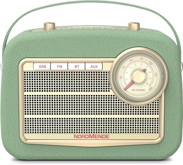 Nordmende TRANSITA 130 DAB+ Radio, DAB+, DAB, AM, FM, Bluetooth, Grün