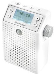 Soundmaster DAB60WE DAB+/UKW, Steckdosenradio mit Bewegungsmelder, Akku,