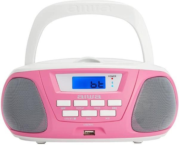 Aiwa Boombox BBTU-300PK Pink