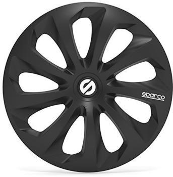 Sparco Sicilia SPC1670BK 16-Zoll - schwarz(4 Stück)