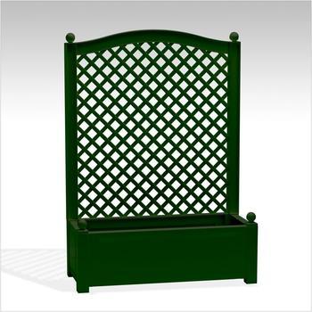 KHW Pflanzkasten mit Spalier 100 x 140 cm grün