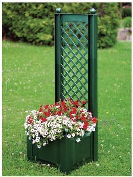 KHW Pflanzkasten mit Spalier 43 x 140 cm grün