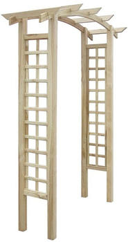 vidaXL Wooden Trellis 150x50x220 cm
