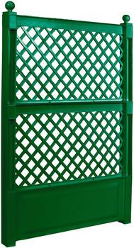 KHW Spalier 100cm mit Erdspieß grün (47703)