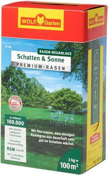 Wolf-Garten Premium-Rasen Schatten & Sonne LP 100