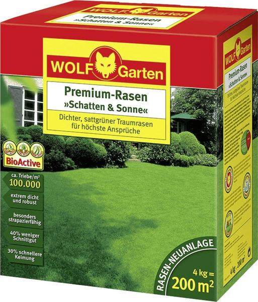 Wolf-Garten Premium-Rasen Schatten & Sonne LP 200