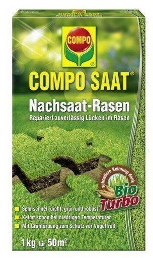Compo Nachsaat-Rasen - 1kg für 50m²