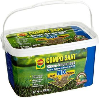 Compo Rasen-Neuanlage-Mix 2,4 kg für 100 m²