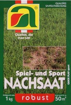 AustroSaat Nachsaat Quick Play sport 1 kg für 50 m²