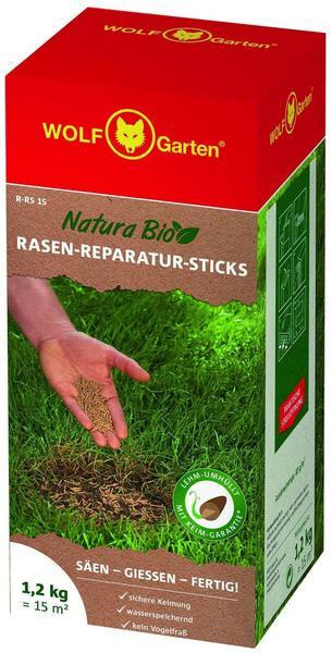 Wolf-Garten Natura Bio Rasen-Reparatur-Sticks R-RS 15