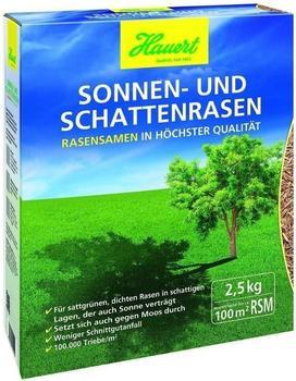 Hauert Sonnen- & Schattenrasen 2,5 kg