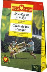 Wolf-Garten Spiel-Rasen ´´Family´´ LF 200