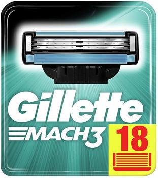 Gillette Mach3 Systemklingen (18 Stk.)