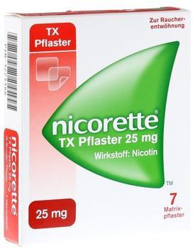 nicorette TX Pflaster 25 mg (7 Stk.)