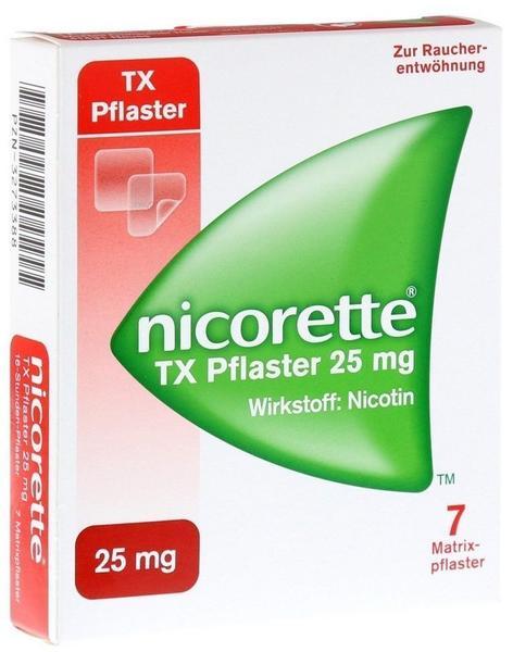 Nicorette TX 25 mg Pflaster 7 St.