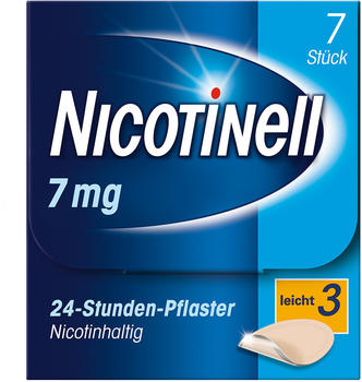 Nicotinell 7 mg / 24-Stunden-Pflaster (7 Stk.)