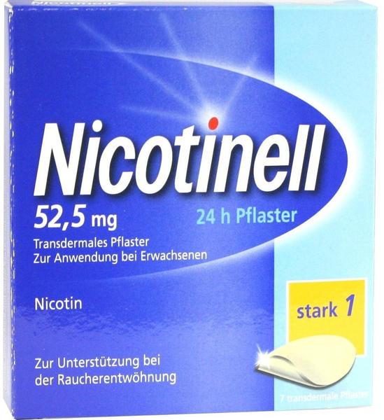 Novartis Nicotinell 52.5 mg 24-Stunden transdermale Pflaster 7 St.