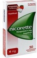 Nicorette Freshfruit 4 mg Kaugummi 30 St.