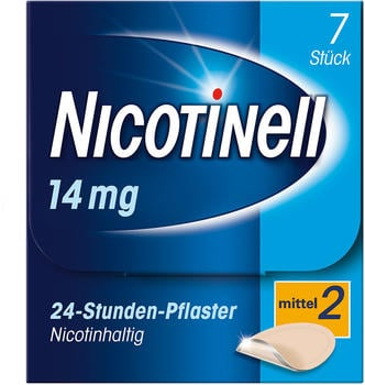 Nicotinell 14 mg 24 Stunden Pflaster (7 Stk.)