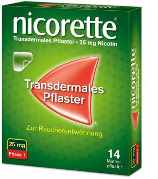 nicorette TX Pflaster 25 mg (14 Stk.)