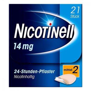 Nicotinell 14 mg / 24-Stunden-Pflaster (21 Stk.)